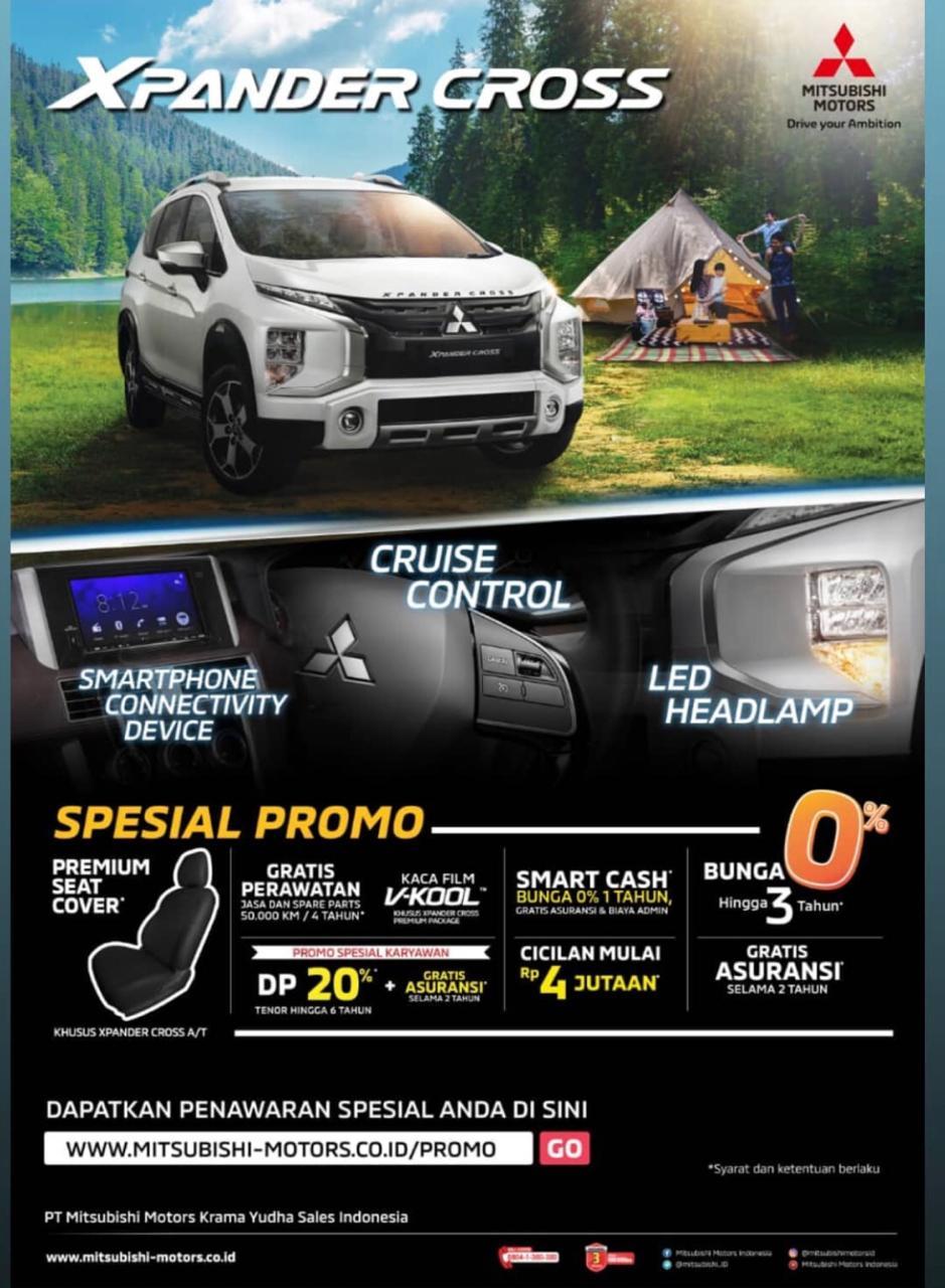 Promo Xpander Cross Eka Mitsubishi Bekasi