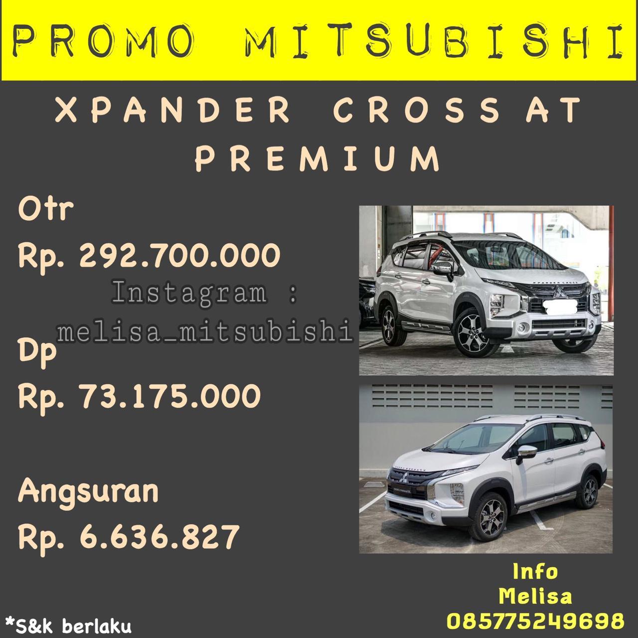 Promo Mitsubishi Xpander Cross Melisa Mitsubishi Jakarta Selatan