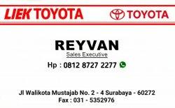 Reyvan Toyota Surabaya - Toyota Surabaya Jawa Timur