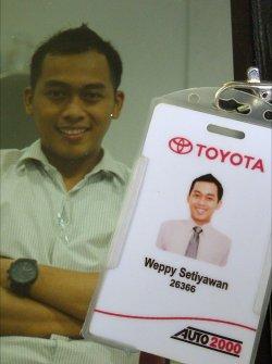 Weppy Sales Toyota Madiun